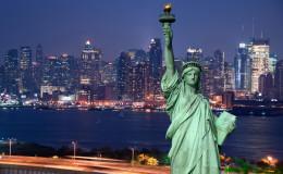 Panorama of New York city