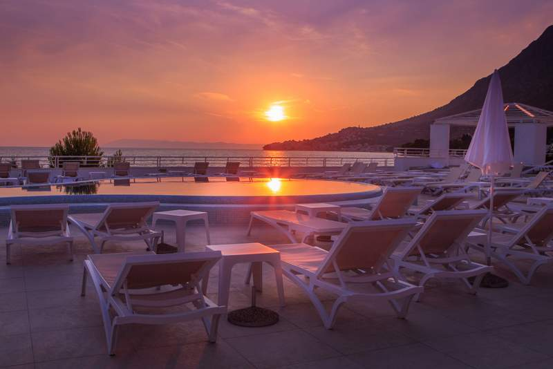 ABR_Main_Pool_Terrace_-_Sunset